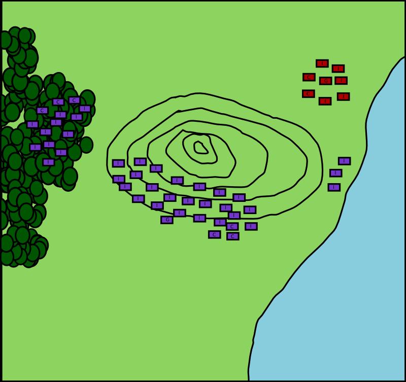Mars 1250 - Stand-alone : L'invasion confédéro-gothique - Page 3 Batail10