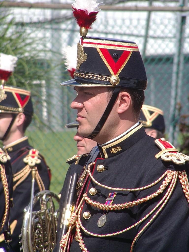 Prestation de la musique de la Garde Républicaine à St Georges des Groseillers (61) Imgp7712