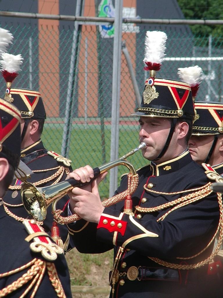 Prestation de la musique de la Garde Républicaine à St Georges des Groseillers (61) Imgp7714