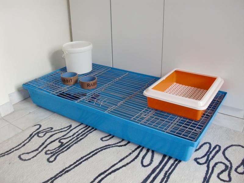 Vends cage à lapin pliable d'1m20 [94] Cimg9829