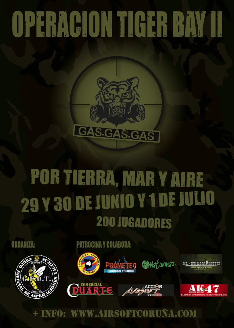 Operacion Tiger Bay II -- GAS,GAS,GAS. -- 29/6/12 a 01/07/12 Cartel13