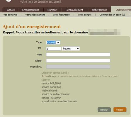 Reconfigurer un nom de domaine externe pour qu'il dirige vers votre forum 115