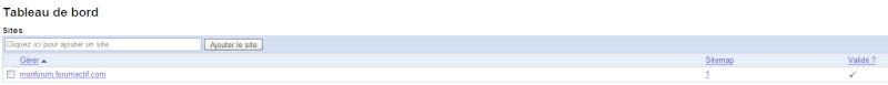 Optimiser le référencement de votre forum via Google Sitemaps 1310