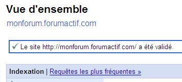 Optimiser le référencement de votre forum via Google Sitemaps 710
