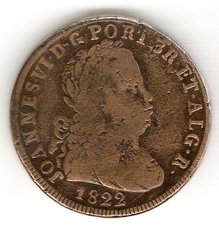Pataco de Joao VI - Portugal 1822 Scan0017