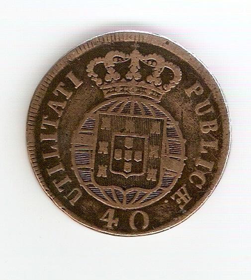 Pataco de Joao VI - Portugal 1822 Scan0018