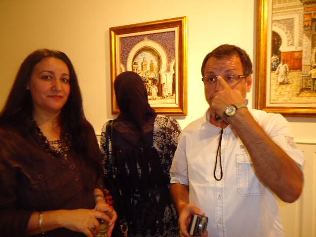 EXPOSITION DE FIDALI AU CENTRE CULTUREL FRANÇAIS HONORE DE BALZAC Dsc03410
