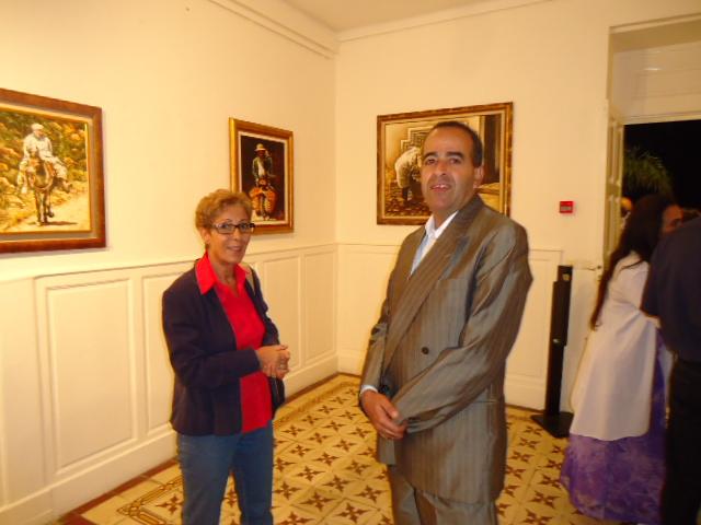 EXPOSITION DE FIDALI AU CENTRE CULTUREL FRANÇAIS HONORE DE BALZAC Dsc03412