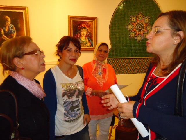 EXPOSITION DE FIDALI AU CENTRE CULTUREL FRANÇAIS HONORE DE BALZAC Dsc03516