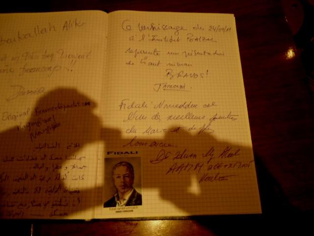 EXPOSITION DE FIDALI AU CENTRE CULTUREL FRANÇAIS HONORE DE BALZAC Dsc03528