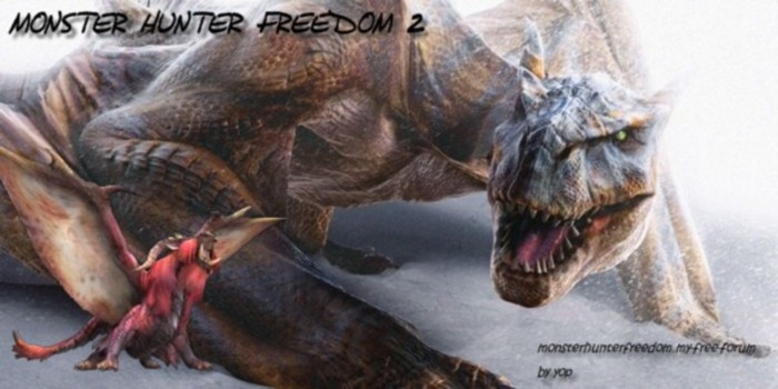 Monster Hunter Freedom 2 et 2G