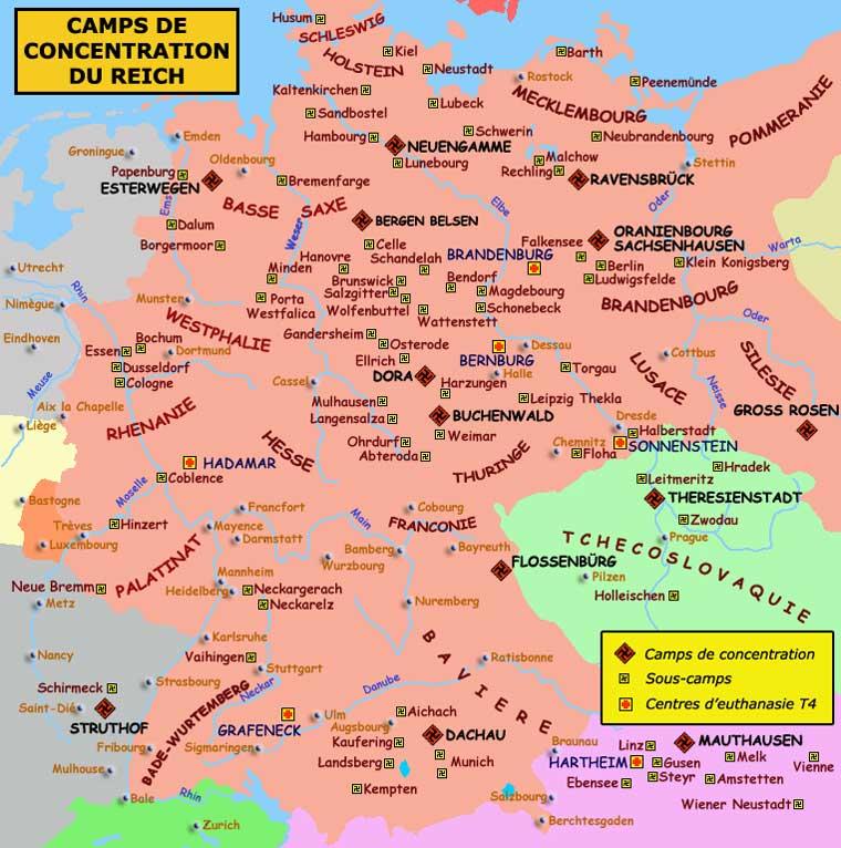 Les camps dans le reich Allemand Nazica10