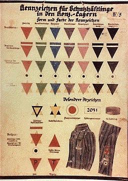 Les badges des déportés Nazica11