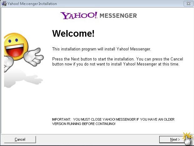 حصريــــــــا برنامج الشات الاول عالميا Yahoo! Messenger2011 Sshot110