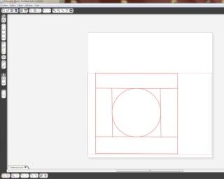 comment effacer un tracé sous silhouette studio Panier11