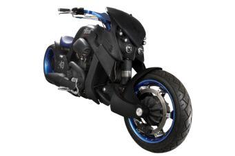 La moto créée pour Johnny à gagner ! Moto110