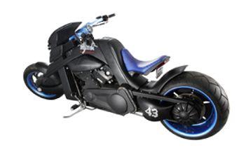 La moto créée pour Johnny à gagner ! Moto210