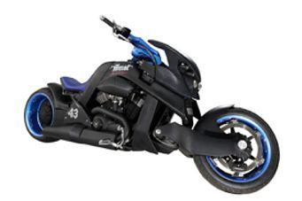 La moto créée pour Johnny à gagner ! Moto310