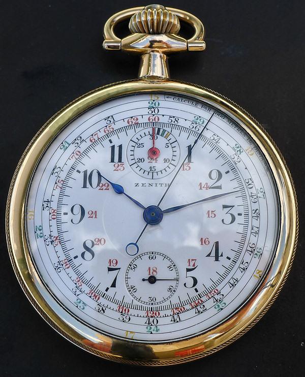Un chronographe de poche ZENITH pas comme les autres Chrono13
