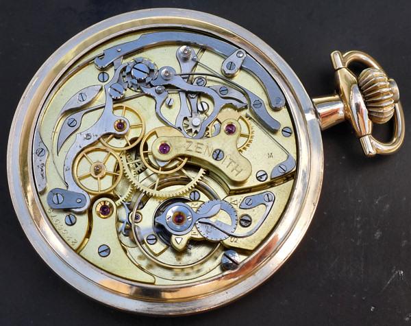 Un chronographe de poche ZENITH pas comme les autres Chrono14