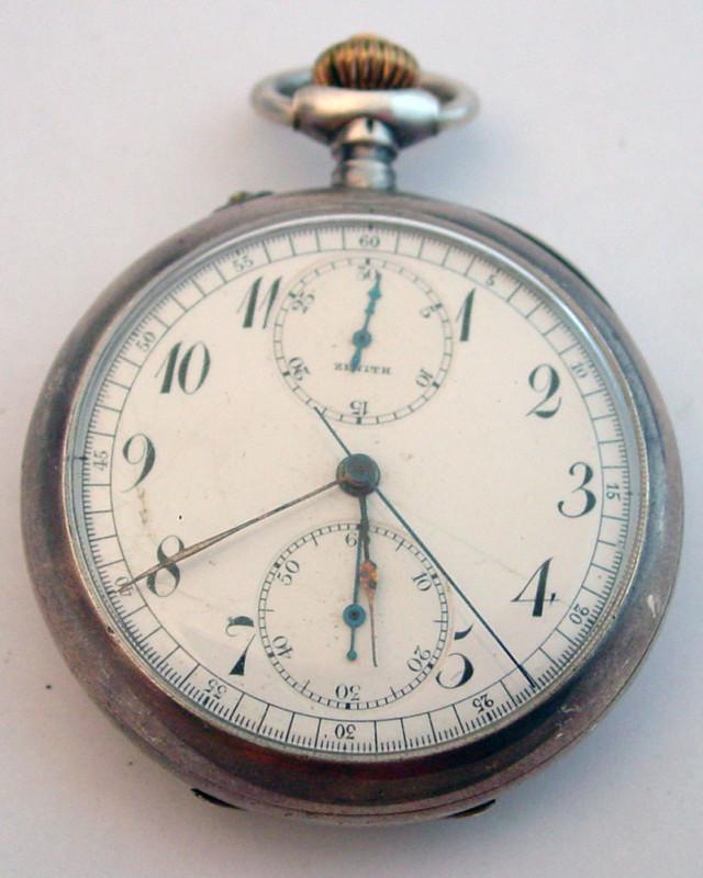 Un chronographe de poche ZENITH pas comme les autres Chrono20