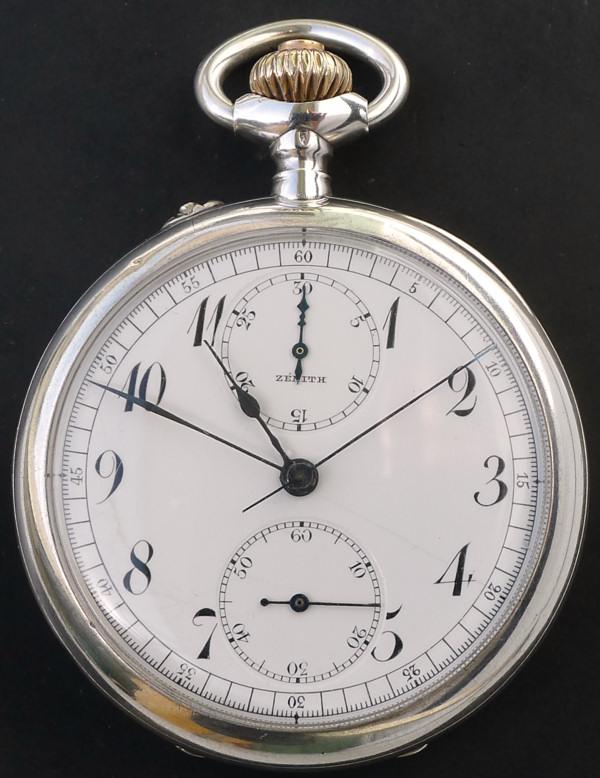 Un chronographe de poche ZENITH pas comme les autres Chrono26