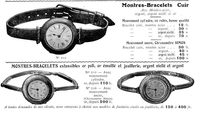 Zenith et les poilus ... Les toutes premières montres bracelets de Zenith Simon-11