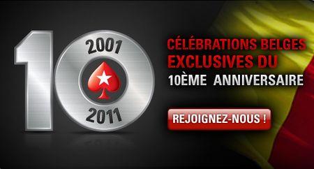 10ème anniversaire de Pokerstars Belgia10