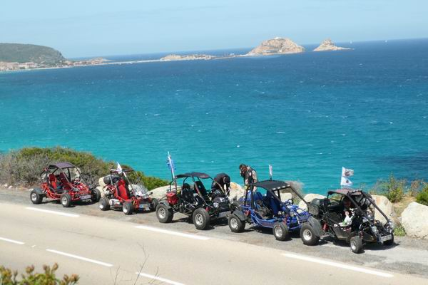 le Buggy Trophy en Corse sur 3800 km Trophy21
