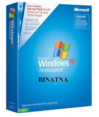 Windows XP Professionnel Francais + Service pack 2 B0002m10