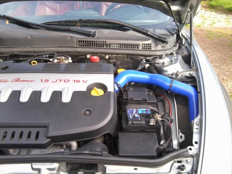 durite inferieur de turbo percée GT 1L9 JTD Photo015