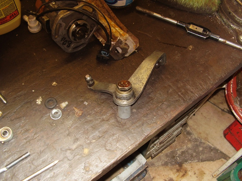 reparation d'une barre de passage des vitesses P2270310
