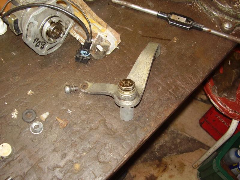 reparation d'une barre de passage des vitesses P2270311