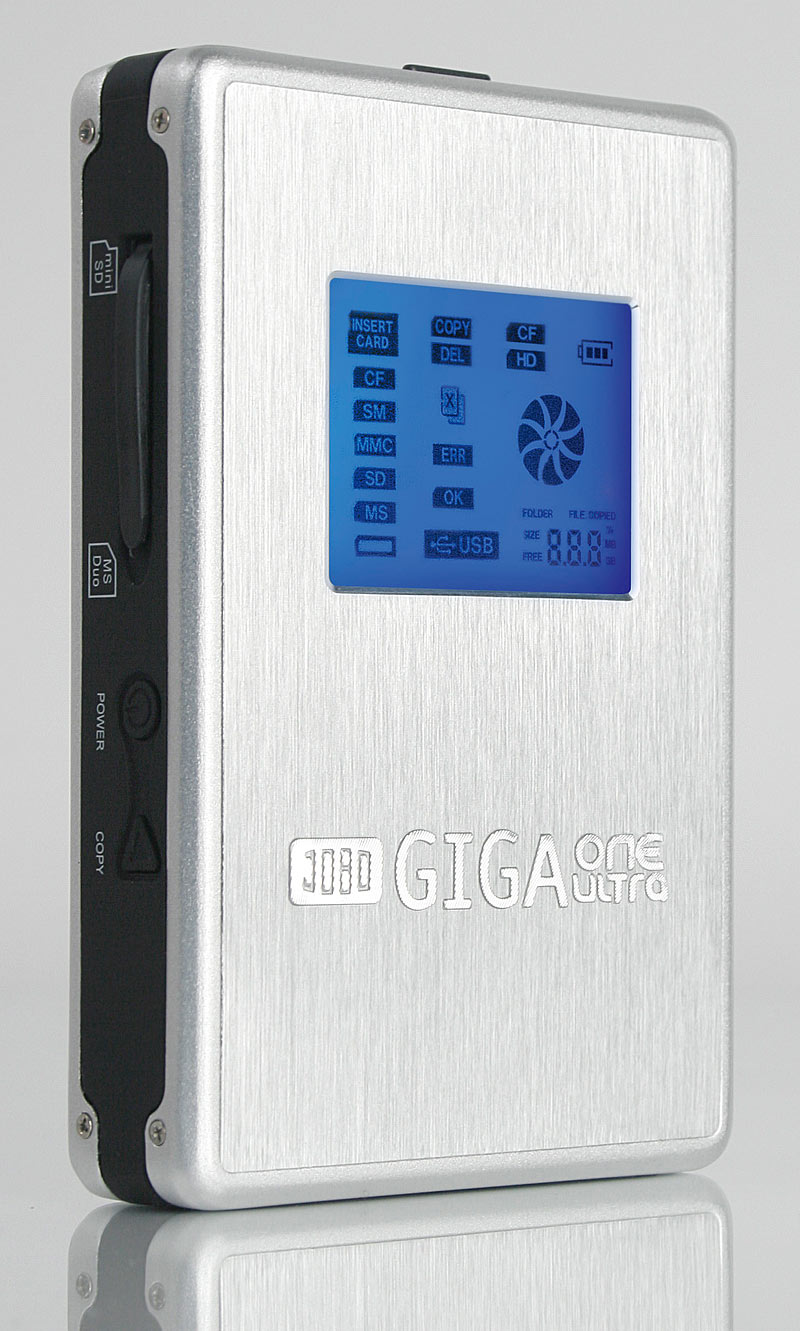 [NE VENDS PLUS]déchargeur de cartes mémoire JOBO Giga One Ultra 80 Go  Jobo_g10