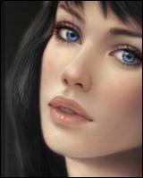 Fresques et portraits pour femmes Av2110