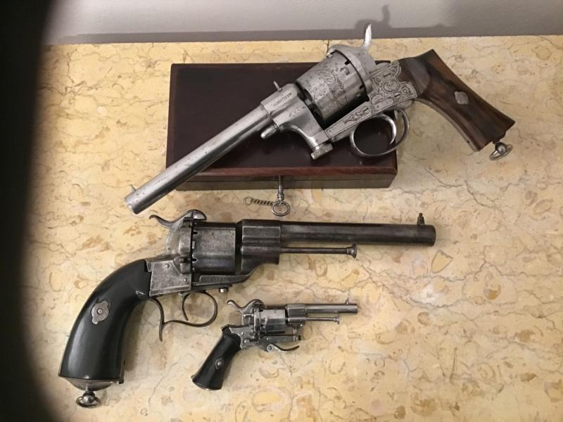 Lefaucheux - Mariette : 3 revolvers  Img_3329