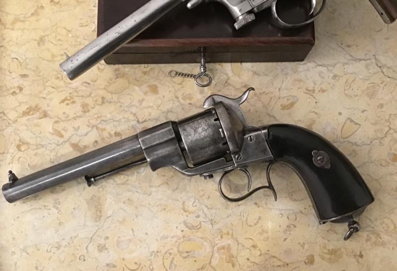 Lefaucheux - Mariette : 3 revolvers  Img_3330