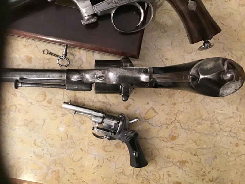Lefaucheux - Mariette : 3 revolvers  Img_3331