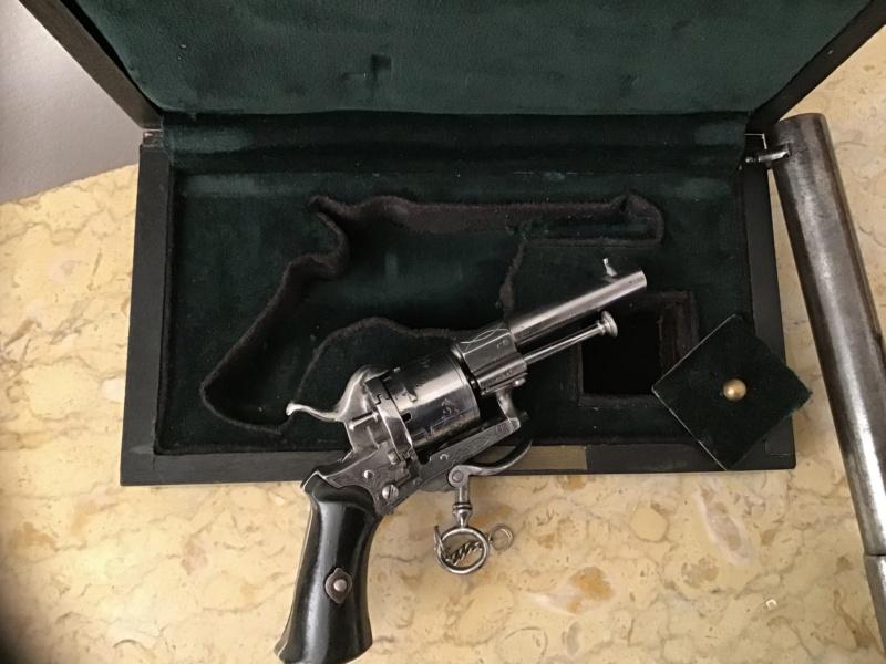 Lefaucheux - Mariette : 3 revolvers  Img_3335