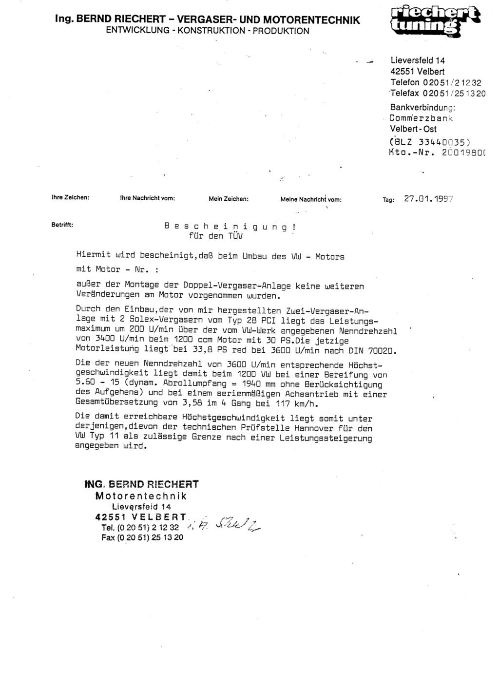 Documentation kit Riechert 00210