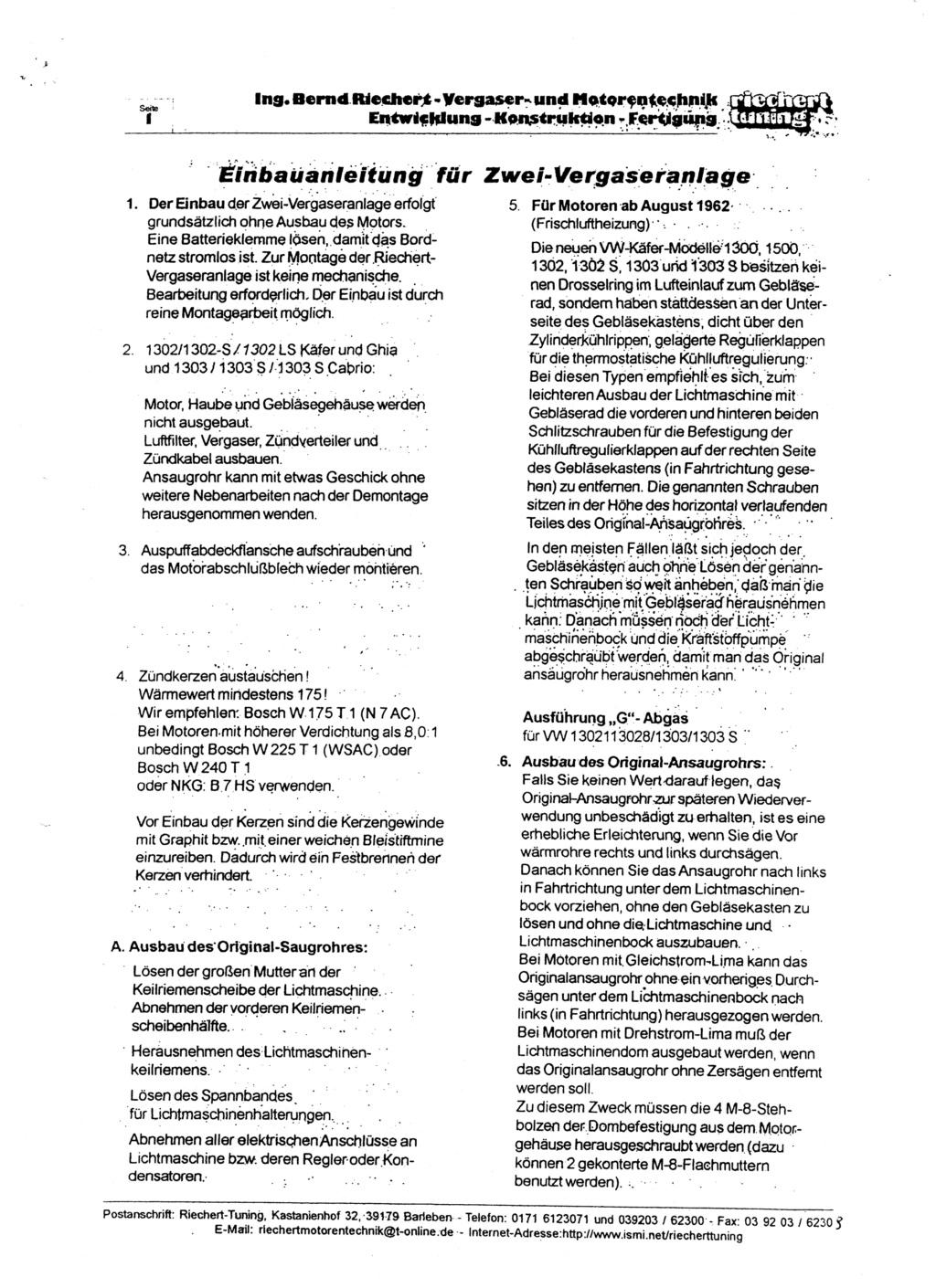 Documentation kit Riechert 1st_pa10