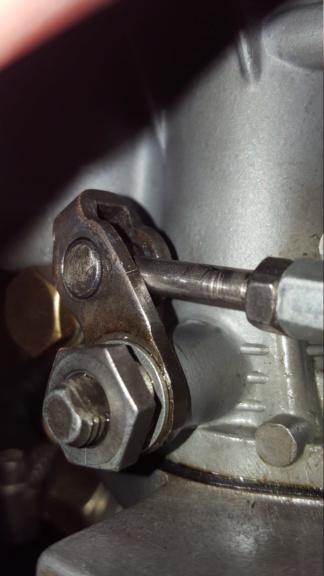 Amélioration tringlerie de commande carburateur Kit Riechert 20190849
