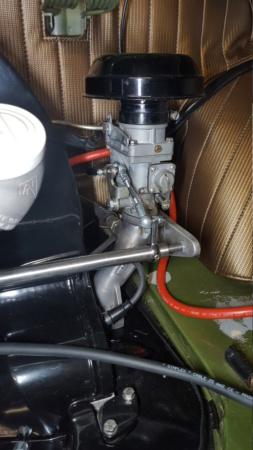 Amélioration tringlerie de commande carburateur Kit Riechert 20191015