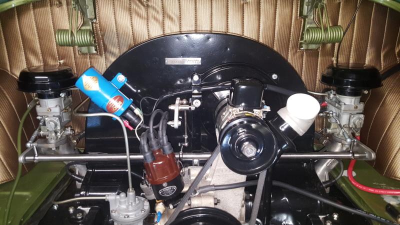 Amélioration tringlerie de commande carburateur Kit Riechert 20191019