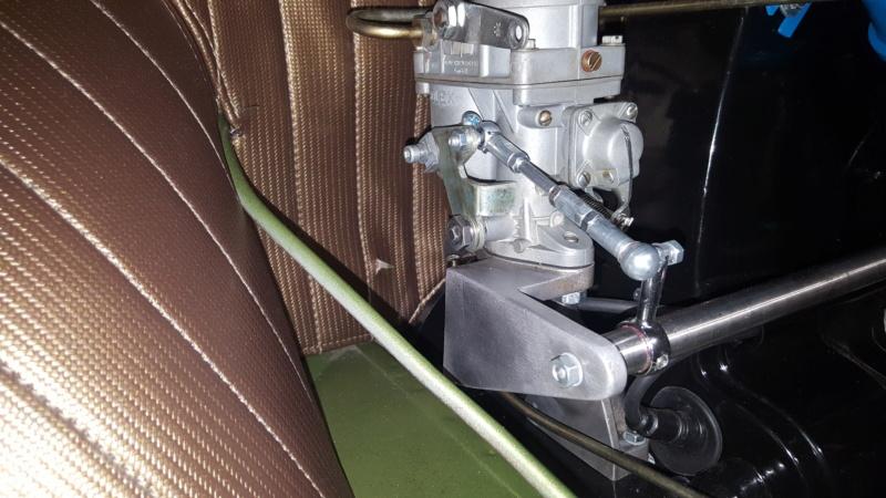 Amélioration tringlerie de commande carburateur Kit Riechert 20191020