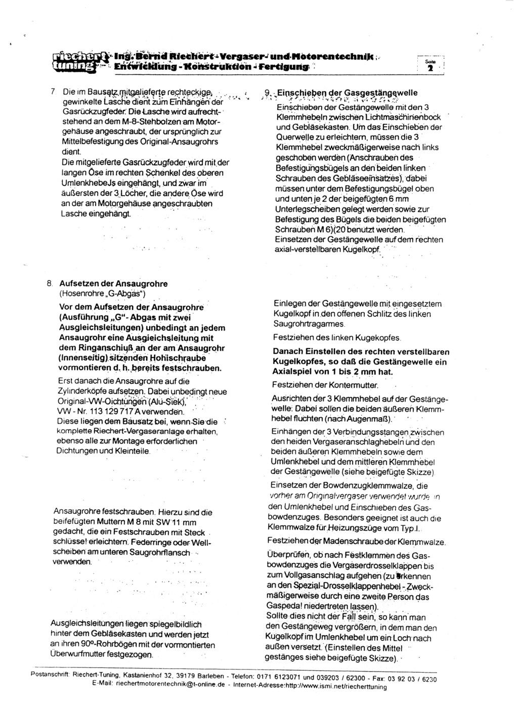 Documentation kit Riechert 2nd_pa10