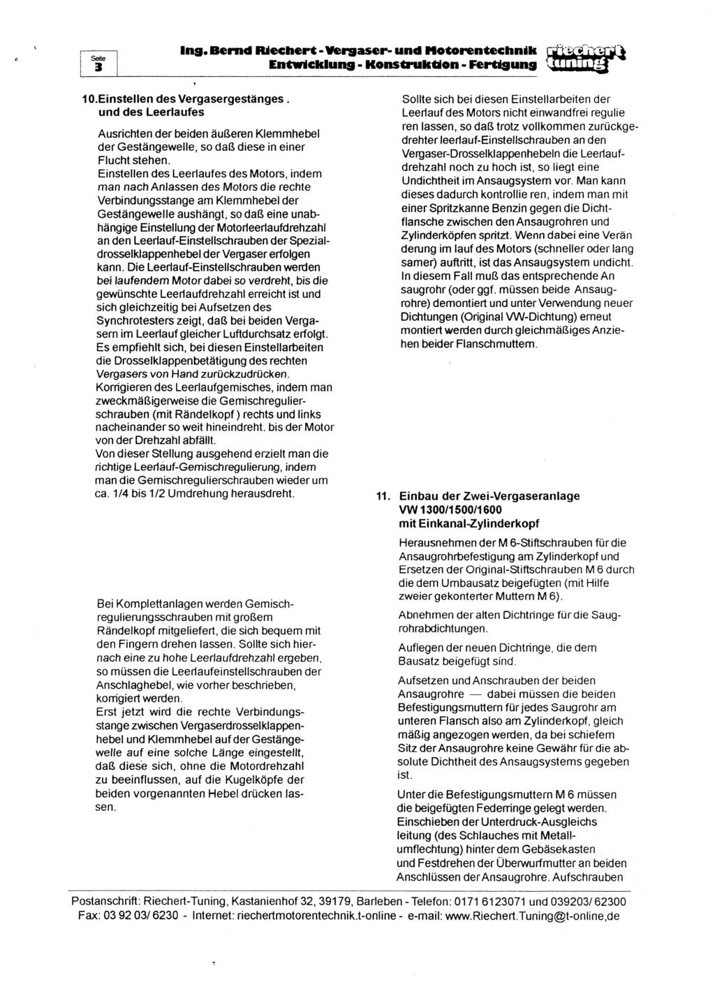 Documentation kit Riechert 3rd_pa10