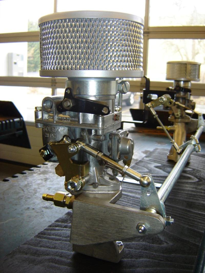 Amélioration tringlerie de commande carburateur Kit Riechert 42748311