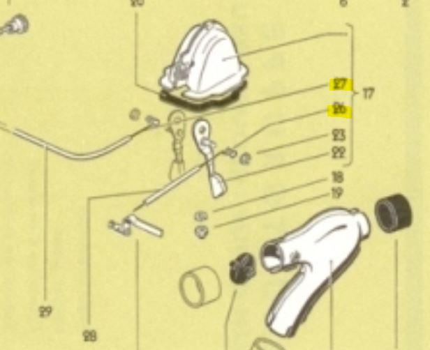 Cables de commande air frais avant Captur14