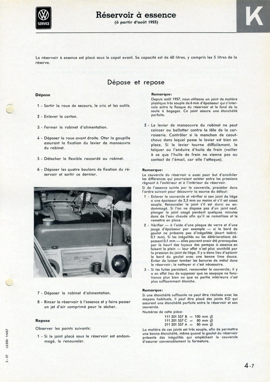Mise en place d'un robinet de réserve d'essence Page_413